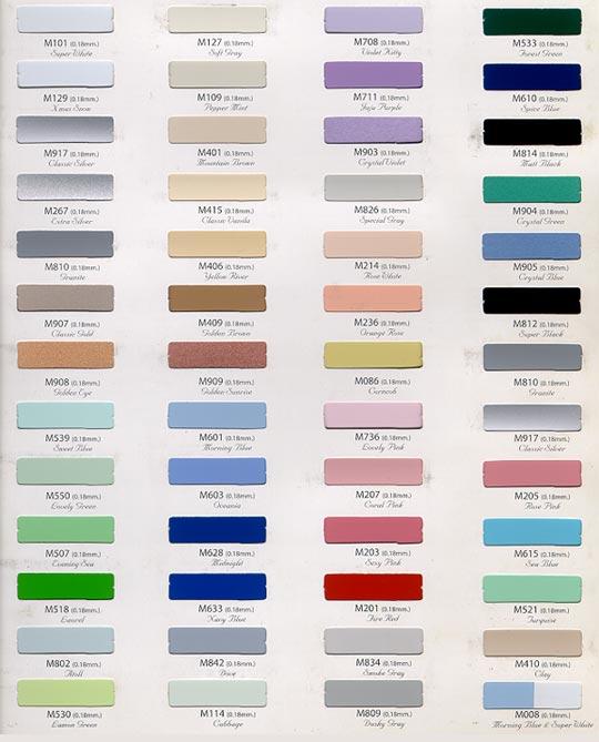 International Color Standards